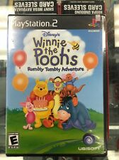 Disney's Winnie the Pooh: Rumbly Tumbly Adventure (Sony PlayStation 2, 2005) PS2
