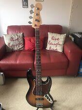 Fender American Standard Jazz Bass Sunburst Hard Case, Strap In Great Condition