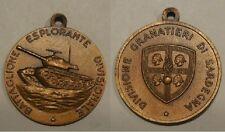 medaglia divisione granatieri di Sardegna battaglione esplorante