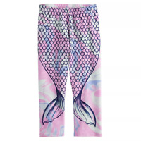 Girls 7-16 SO Purple Mermaid Tail Core Capris, Size 10/12, Retail $16.00