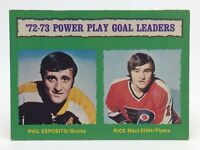1973 74 OPC O Pee Chee Phil Esposito 138 Boston Bruins Hockey Card E671