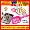5pcs Kitty Litter Cleaner Scoop Plastic Shovel For Cat Sand Toilet Cleaning