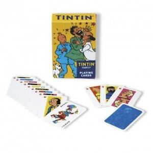 TINTIN Playing Cards Pack - Family