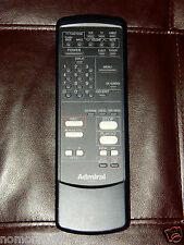 Admiral Remote Control G0015AJ TV Free Shipping! Goo15AJ
