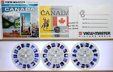 Canada 3-reel Set A090 - GAF G3 ed. A View-Master World Travel Packet