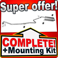 Ford Fiesta 1.4 1.6 TDCI 2008-2012 Silencer Exhaust System M56
