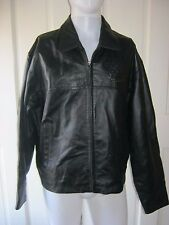 NWT Rare Mens King's Crown Tradition Canyon Outback Leather Full Zip Up Jacket M