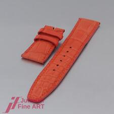 IWC Schaffhausen -Kroko- Lederband - Neon Orange- XS ! - 20/18mm - UNGETRAGEN!