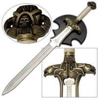 "Conan the Barbarian Sword 40.5"" with Plaque"