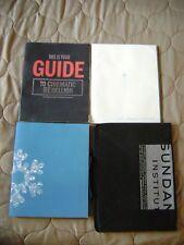 Sundance Film Festival Materials Lot (2 Programs, 1 film guide, 1 bag)
