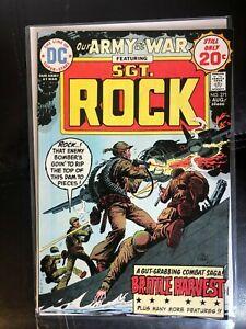 Our Army At War 271 VF/NM Joe Kubert Cover High Grade!!