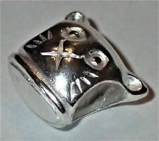 0.925 Sterling Silver Bead ADD TO EUROPEAN STYLE & PANDORA BRACELETS 1.45 Grams