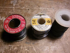 3 rolls of leaded solder 2LBS 6OZ total