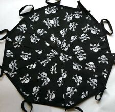 Skull Crossbones Pirates Fabric Bunting 20ft /6m Bundle Nautical Halloween Party
