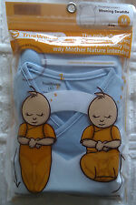 Brand New TrueWomb - Weaning Swaddle in Size Medium - Baby Blue Color