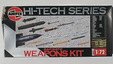 AIRFIX 05041 - RAF / NATO WEAPONS KIT - 1:72 - Missiles & Pods Waffen Set
