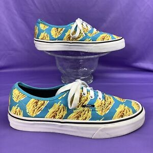 rare VANS AUTHENTIC Late Night Snack Pack French Fries 38 women's 7.5 / men's 6