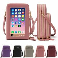 Touch Screen Crossbody Phone Bag Handbag Purse Wallets Credit Card Holder 2021