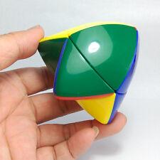 "2.4"" Shengshou ABS Plastic Pyramorphix 2x2 Magic Cube Twisty Puzzle Toy Colorful"