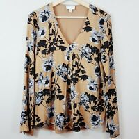 WITCHERY  | Womens Floral Print Blouse Top  [ Size XS or AU 8 ]