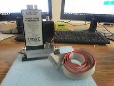 Unit Instruments: UFC-1160A  Mass Flow Controller. 200 SCCM,  Gas: N2. Rib. Cab<