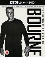 Bourne 4K Collection (4K UHD+BD+UV) [Blu-ray] [2017] [DVD][Region 2]