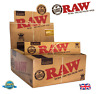 RAW CLASSIC HEMP KING SIZE SLIM Tobacco Rolling Paper Natural Unrefined Papers