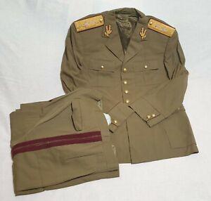 Romania Old ORIGINAL uniform CEAUSESCU era 1970 officer GENERAL Doctor VERY RARE