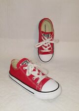CONVERSE Chuck Taylor All Star Low Top Toddler Shoes Sz 10
