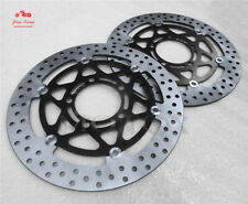 Front Brake Disc Rotors Fit For Kawasaki 06-09 ER-6F ER6N KLE650 07-09 Z750 08