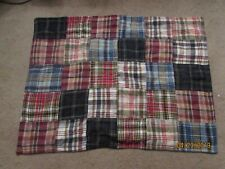 Amish Quilted Pillow Sham - Patchwork Pattern