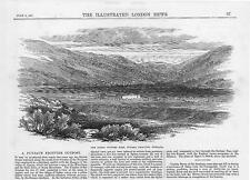 1870 INDIA Afghanistan Oghee Outpost Fort Hazara Frontier Military (017a)