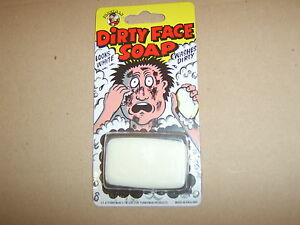 Dirty Face Soap. Practical Joke Trick. Guaranteed delivery.