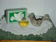 AVON cologne...1976  SILVER  DOVE  ORNAMENT  OCCUR !