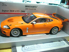 JAGUAR XKR GT3 2008 FIA GT Racing plainbody orange PMA Minichamps 1:18