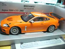 JAGUAR XKR GT3 2008 FIA GT Racing plainbody orange PMA Minichamps 1:18
