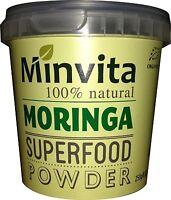 Minvita Premium 100% Natural Moringa Superfood Powder 250g