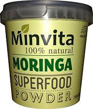 Minvita Premium 100% NATURALE Moringa Superfood Polvere 250g