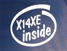 X14XE INSIDE Novelty Car/Window/Bumper Sticker - Ideal For Vauxhall/Opel Astra