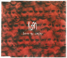 Korn Here To Stay PROMO Austria Import CD Single