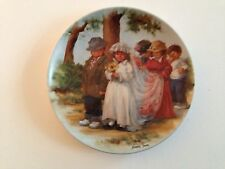 1985 Here Comes The Bride Knowles 4th Issue Friends I Remember Collector Plate