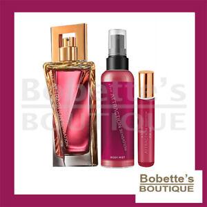 ATTRACTION SENSATION AVON 3 Produits pour Elle: Eau de Parfum + Vapo Sac + Brume