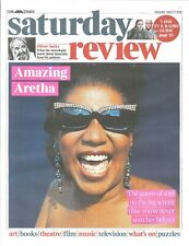 UK Times Review April 2019: ARETHA FRANKLIN COVER & FEATURE Oliver Sacks