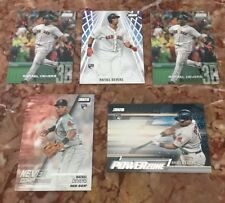(5) Rafael Devers 2018 Topps Stadium Club RC Lot Red Sox Beam Team/Power Zone +