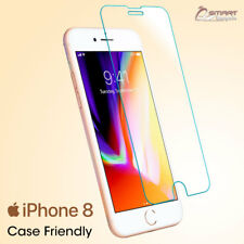 Case Friendly Tempered Glass Screen Protector Guard For iPhone 8 8 Plus X 7 Plus