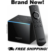 Fire TV Cube w/ Alexa, Remote 4K Ultra HD Streaming Media Player NEW (150+ SOLD)