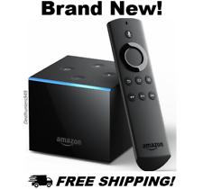 Fire TV Cubo con Alexa, control remoto y 4K Ultra HD Reproductor de Medios de Transmisión Nuevo Sellado!