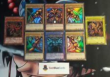 Yu-Gi-Oh! EXODIA + Slifer Obelisk Ra Götterkarten ULTRA RARE ! TOP MINT !DEUTSCH