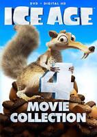 Ice Age 4-Movie Set Collection, DVD, Original Meltdown Dinosaurs, Drift, New