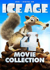 Ice Age 4-Movie Set (DVD, 2016, 4-Disc Set)